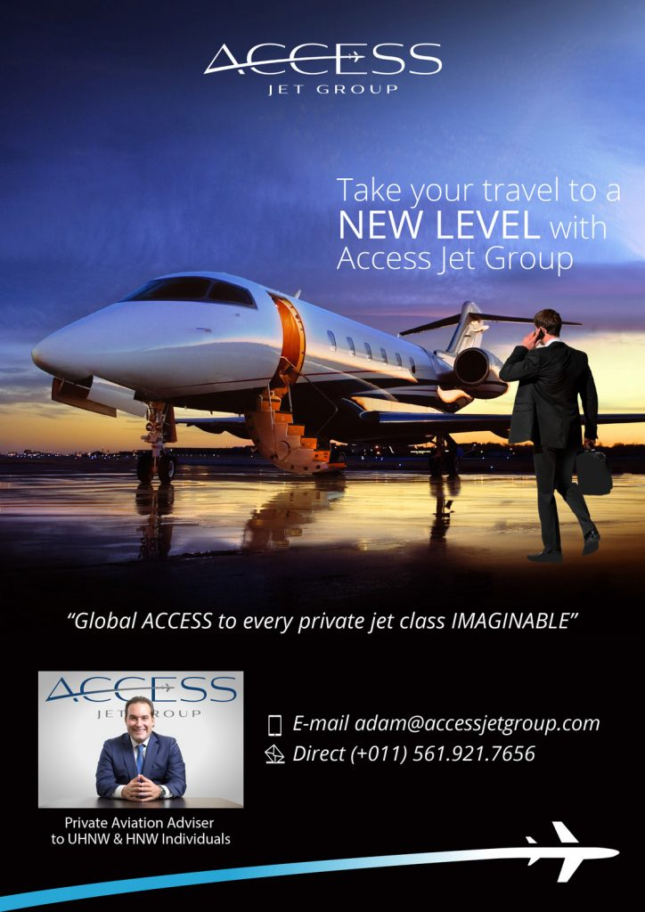 global access to every jet