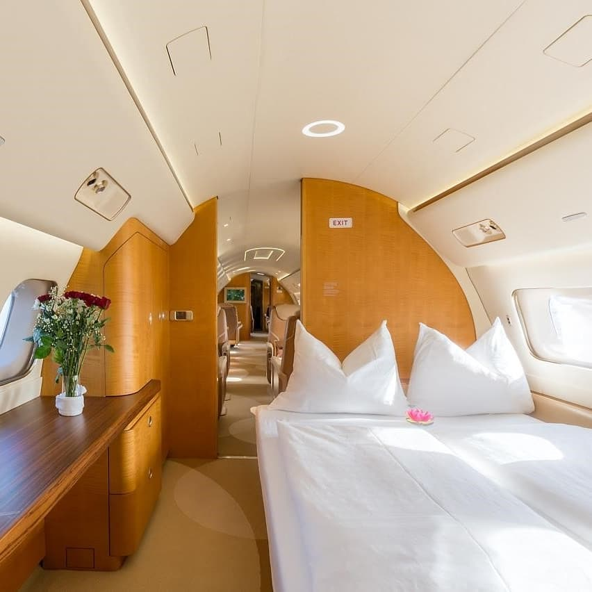 Private Jet vs First Class