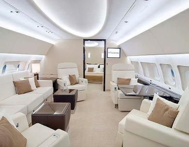 Jumbo jets are ideal for flying large groups of people.